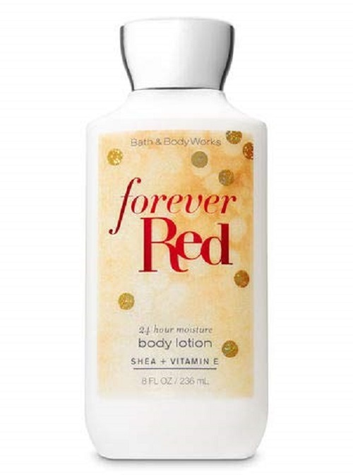 4 Pc Bath & Body Works Forever Red Set  Lotion, Mist, Shower Gel & Body Cream