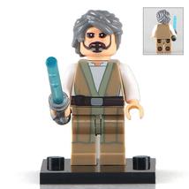 The Elderly Luke Skywalker Star Wars Rogue One Minifigures Custom Minifi... - $3.79
