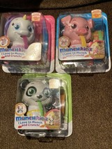 Lot of 3 MUNCHKINZ Lot Chewy Lily PICKLES 30+ ELECTRONIC EATING SOUNDS - $49.49