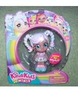 """Kindi Kids Minis Marsha Mello 3.5""""with Glittery Eyes and Bobble Head New - $9.50"""