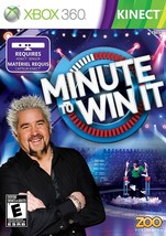Minute to Win It (Microsoft Xbox 360, 2011) NEW Sealed Video Game - $8.89