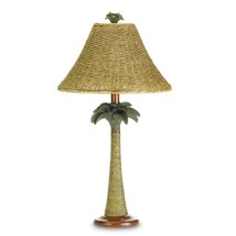 lamps table, Polyresin Rattan Palm Tree Decorative bedroom bedside table... - €47,76 EUR