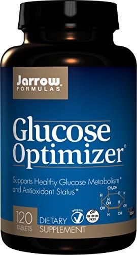 Jarrow Formulas Glucose Optimizer, Supports Healthy Glucose Levels and Antioxida