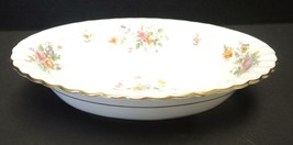 "Minton 10"" Oval Vegetable Bowl - Marlow Pattern - $18.99"