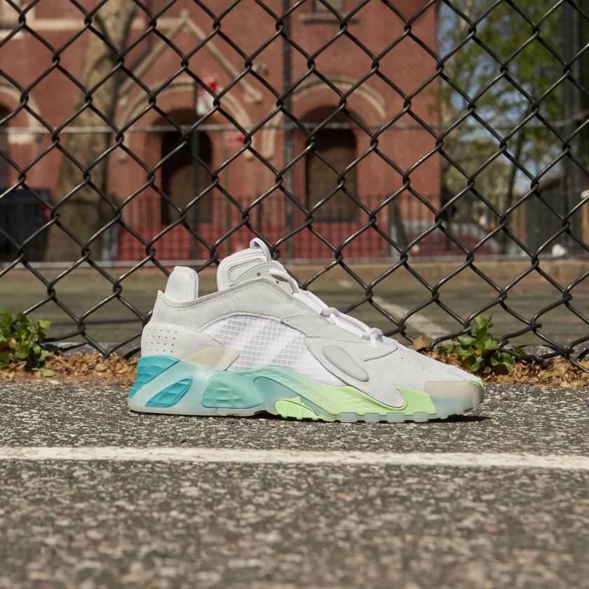 Adidas Originali Streetball Scarpe Bianco/Acquamarina Scarpe Sportive