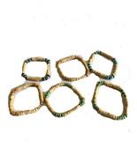 Beaded Stretch Bracelets - 2 pcs per order - $1.97