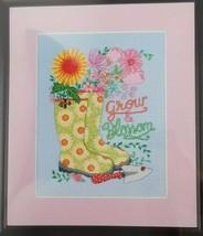ARTISTE ZWEIGART Counted Cross Stitch Kit Grow and Blossom Garden Spring... - $14.99