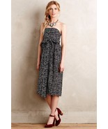 NWT ANTHROPOLOGIE BARCELONA TIED MIDI DRESS by 4.COLLECTIVE 4 - $116.99