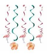 Island Oasis 5 Ct Dizzy Danglers Hanging Decorations Summer Luau Pool Pa... - £3.36 GBP