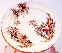 English STAFFORDSHIRE-- Johnson Brothers Oval Platter - $14.95