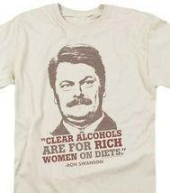 Ron Swanson T-shirt Parks & Recreation Political comedy TV graphic tee NBC932 image 3