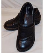 B. O. C. Boc Born Concepto Cuero Negro Zuecos 6.5 37 Zapatos Mujer - $28.77