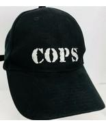 COPS Official TV Series Hat Logo Langley Black Adjustable Back Baseball Cap - $49.49