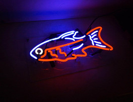 "New 'Tropical Fish' Coffee Restaurant Business Banner Neon Light Sign 15""x10"" - $59.00"