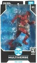 New 2021 Mcfarlane Dc Multiverse The Flash Justice League 7 Inch Figure - $39.99