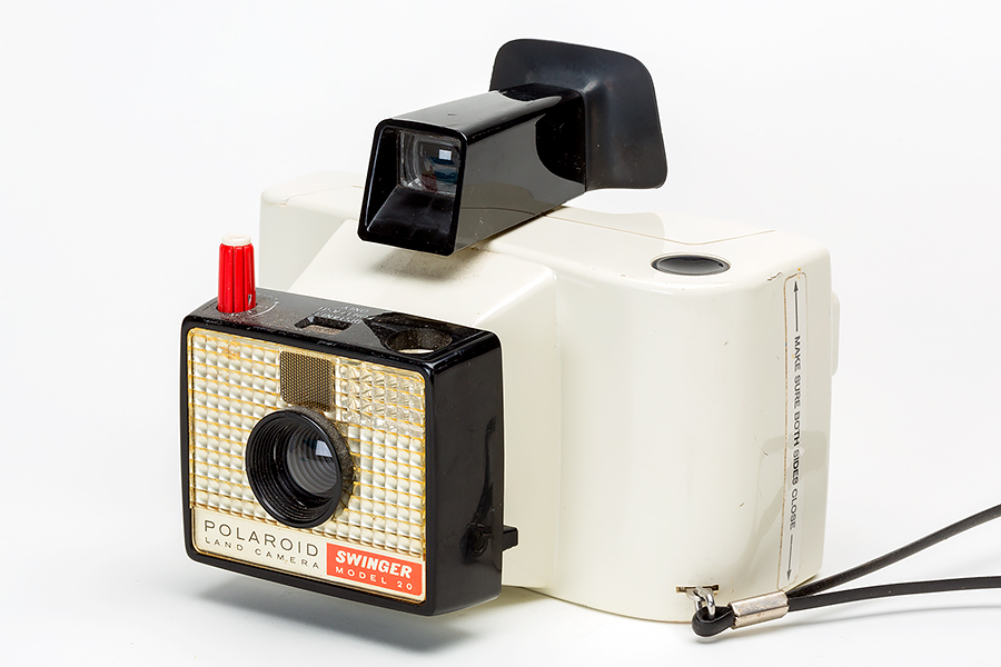 Vintage Polaroid Swinger Model 20 Camera