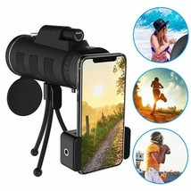 Zoom Lens Phone Smartphone Monocular Telescope Scope Camera Phone Clip T... - $21.84