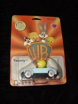 Looney Tunes Tweety Diecast Car Ertl 1988 New In VG Package (stained) - $18.99