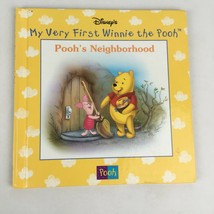 Pooh's Neighborhood Disney First Pooh Hardcover Children's Book Ages 3 & Up - $1.58