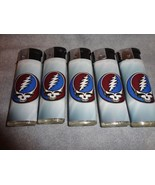 GRATEFUL DEAD ROCK BAND LIGHTERS SET OF 5 ROCK AND ROLL - $10.84