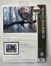 Dimensions Gold Collection #35311 WISE OWL Counted Cross Stitch Kit NEW - $49.99