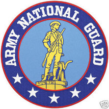 ARMY NATIONAL GUARD EMBROIDERED JACKET PATCH - $31.58