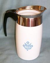 Corning Ware BLUE CORNFLOWER Electric Coffee Pot/Percolator 10 cup P-80-EP EUVC image 3