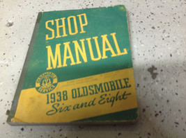 1938 Oldsmobile Six & Eight Repair Workshop Service Shop Manual NEW - $69.29