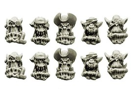 Spellcrow 28mm Conversion bits Bulky Freebooters Orcs Heads