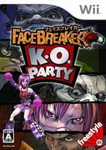 FaceBreaker K.O. Party [Japan Import] [Nintendo Wii] - $25.86