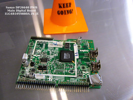 Sanyo DP26640 Pwb Main Digital Board 1LG4B10Y0880A Z6 Je - $18.65
