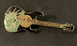 Hard Rock Cafe HRC Pin New York Statue Of Library Guitar - $9.99