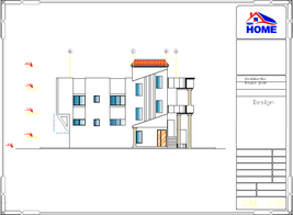 Custom Modern Tiny House Plans 2 Bedroom & 4 Bathroom With Original CAD ... - $24.74
