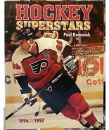 Hockey Superstars Book 1996-97 Romanuk GRETZKY MARIO LEMIEUX Pittsburgh ... - $15.79