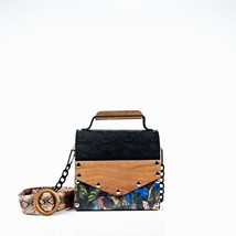 Shouder and Crossbody Bag. Small Handbag. Shoulder and Clutch Bag. HANDC... - $63.00