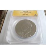 1972 Eisenhower Dollar , Type  3 Reverse , ANACS , Lot of 6 - $99.00