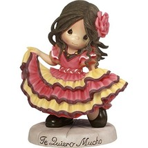 Precious Moments Te Quiero Mucho Spanish Dancing Girl Resin Home Decor C... - $52.53