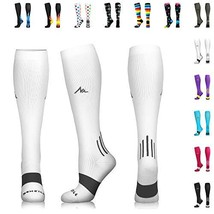 NEWZILL Compression Socks 20-30mmHg for Men & Women - Best Stockings for... - $20.04