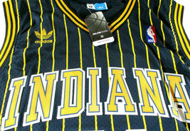 REGGIE MILLER / HALL OF FAME / AUTOGRAPHED INDIANA PACERS THROWBACK JERSEY / COA image 4