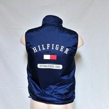 VTG 90s Tommy Hilfiger Vest Flag Spell Out Sport Athletics Reversible Sk... - $129.99