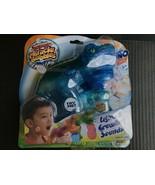 Super Miracle Bubbles Roaring Dino Bubble Blaster W/Lights & Sound Blue-... - $9.99