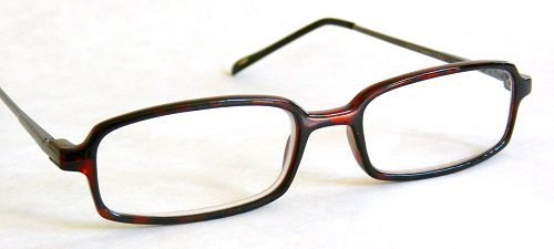 "Primary image for Foster Grant +1.50 ""REPORTER"" Brown Plastic Frame Reading Glasses H24- + + FREE"