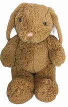"Build A Bear Classic Golden Brown Bunny Rabbit Plush 15"" Cottontail - $12.38"