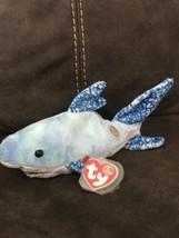 Ty Beanie Baby Chompers - MWMT, Shark 2004 - $4.95