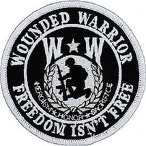 United States Wounded Warrior Freedom Isn't Free Patch - $11.87