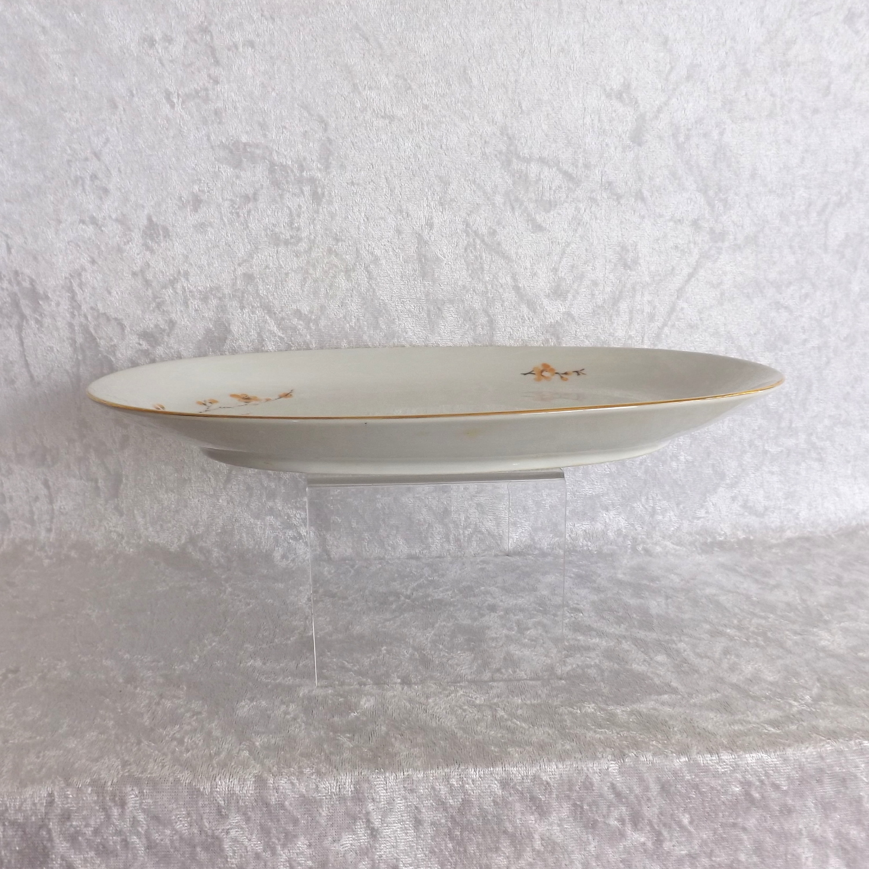 "Bareuther Waldsassen 12"" Oval Platter Bavaria Pattern Fine China (Germany)"