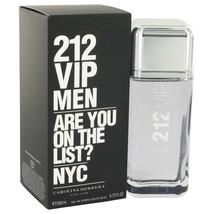 212 Vip by Carolina Herrera Eau De Toilette Spray 6.7 oz for Men - $97.99