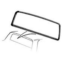 1960-65 Ford Ranchero Back Glass Weatherstrip, 1 piece - $74.40