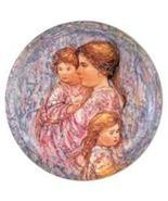 RARE Edna Hibel Perenna Plate~Gesa und Kinder~#4350~MIB~The Perfect Gift... - $149.99