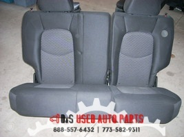 2010 CHEVROLET HHR REAR SEAT